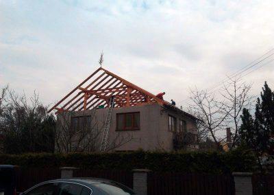 Drevkon - Klasický krov (realizace 1)