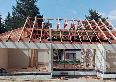 Drevkon - Klasický krov (realizace 4)