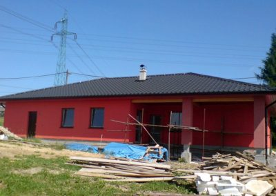Drevkon - strechy (Realizace 1)