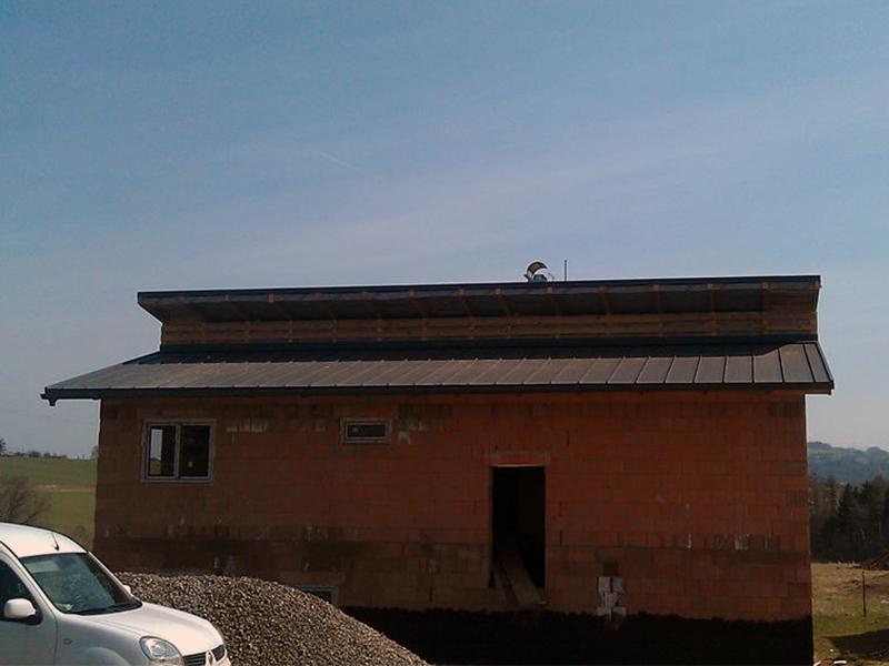 Drevkon - strechy (Realizace 13)