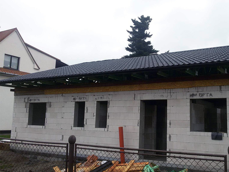 Drevkon - strechy (Realizace 2)