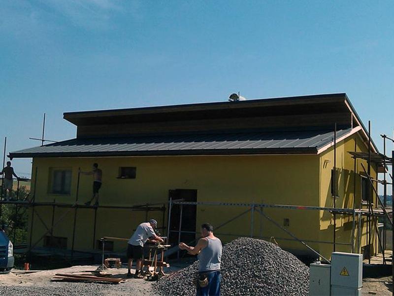 Drevkon - strechy (Realizace 3)
