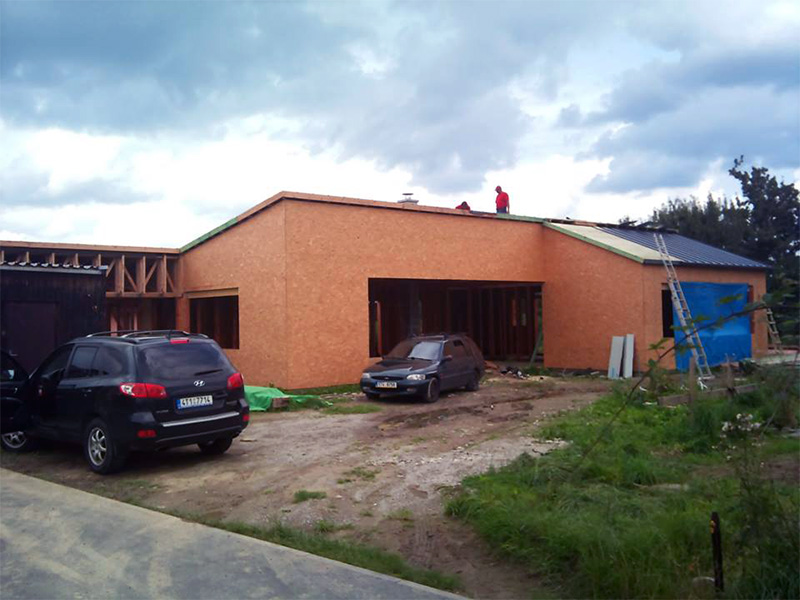 Drevkon - strechy (Realizace 6)