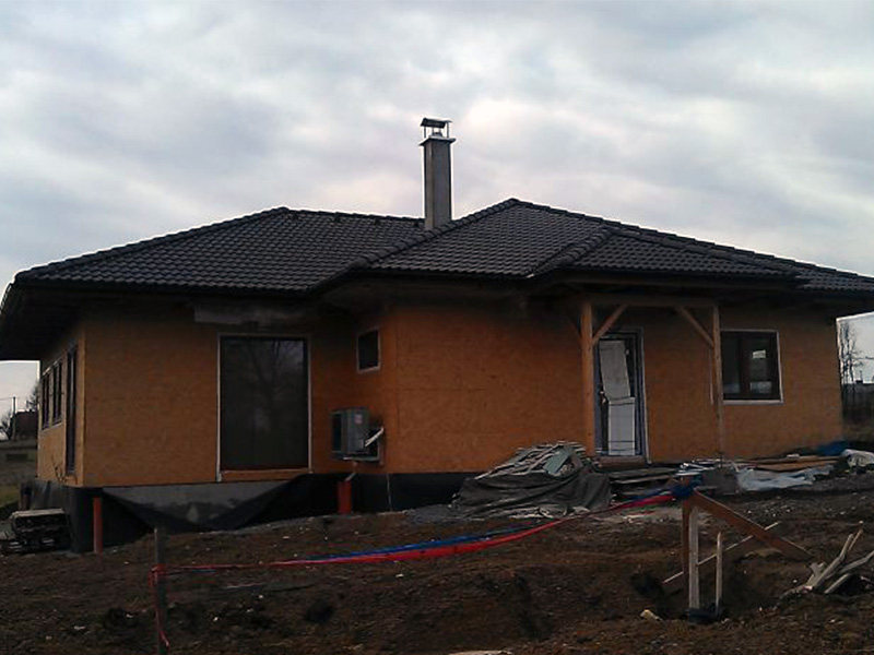 Drevkon - strechy (Realizace 7)